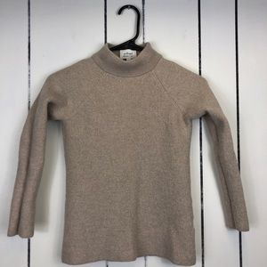Wilfred Cut Out Back Wool Sweater Sz XS